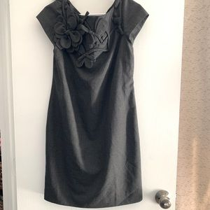 Moschino Cheap and Chic Vintage Gray Dress